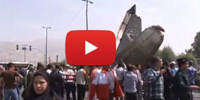 Iran : 39 morts et 9 blessés dans un accident d'avion à Téhéran