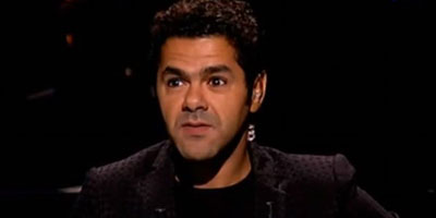 L'humoriste franco-marocain Jamel Debbouze au Grand Théà¢tre de Dakar