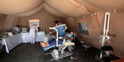 Jordanie : plus de 15 000 syriens soignés à l'hôpital marocain de campagne en un mois !