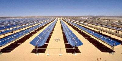La centrale solaire d'Ouarzazate raccordée au barrage Mansour Eddahbi