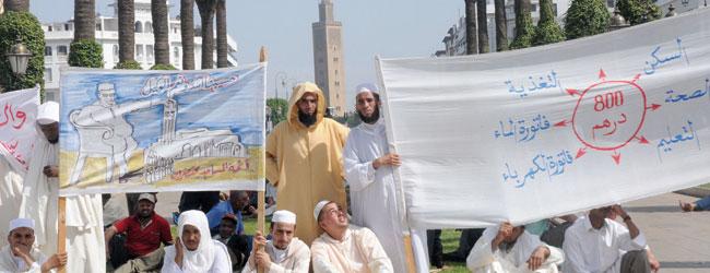 Des droits, un meilleur salaire… Le ras-le-bol des imams