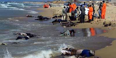 Libye : 170 corps de migrants africains retrouvés