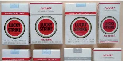 Lucky Strike bientôt sur  le marché