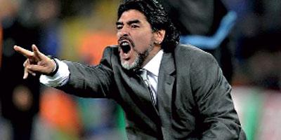 Maradona au Raja de Casablanca ?