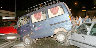 Maroc – Accidents : 16 morts et 1 191 blessés pour la semaine du 28 mai au 3 juin