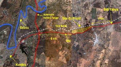 Etat d'avancement de la commercialisation du projet Atlantic Free Zone de Kénitra