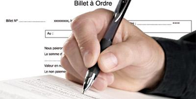 Crédit : refusez de signer le billet d'ordre !
