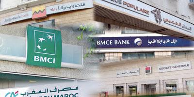Le trio Attijariwafa, BP et BMCE s'en sort mieux que les filiales des banques françaises au premier semestre