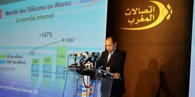 Groupe Maroc Telecom : Légère hausse du chiffre d'affaires à fin mars 2014