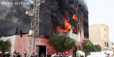 Incendie dans une unité de production à Casablanca : pas de victimes