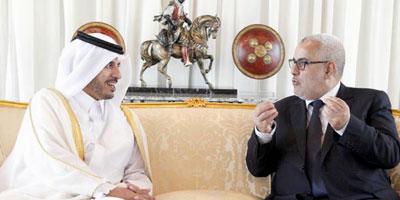 Visite officielle du Premier Ministre Qatari au Maroc