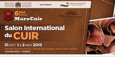 Casablanca : le salon international «Marocuir» ouvre ses portes à l'Office des changes
