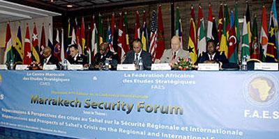 Un forum sur la sécurité à Marrakech