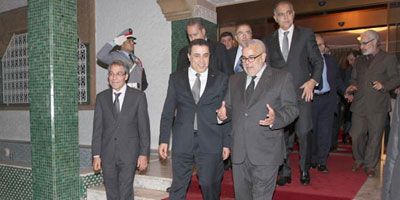 Le Premier ministre tunisien en visite officielle au Maroc