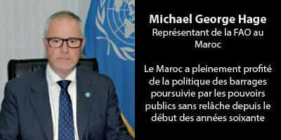 Le vibrant hommage de la FAO au Plan Maroc Vert