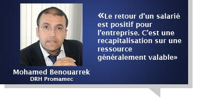Mohamed Benouarrek : Un come-back à son ancienne entreprise n'est pas synonyme d'échec ailleurs