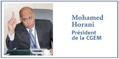 Mohamed Horani : Taxe de solidarité ! Oui, mais pour tous