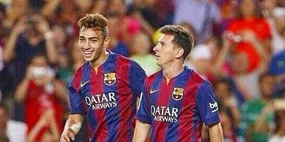 En Vidéos – Mounir El Haddadi brille pour sa première apparition avec le Barça