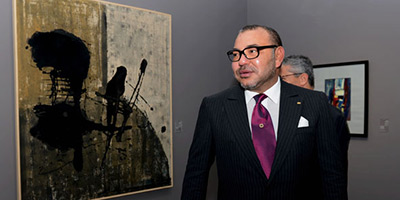 Le Souverain inaugure le Musée Mohammed VI d'art moderne et contemporain à Rabat
