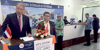 Voyages L'ambassade néerlandaise inaugure un centre de visa à Nador