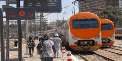 ONCF : Mise en circulation de plus de 250 trains par jour durant la période estivale