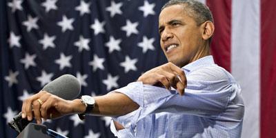 Obama, victime collatérale du shutdown