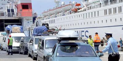Opération Marhaba 2015 : Hausse de 11% du nombre des passagers ayant transité à travers les ports du Royaume