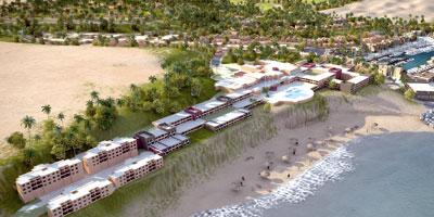 Oued Chbika : le bassin de la marina réalisé à 75% et les premiers hôtels livrés en 2015