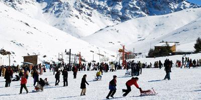 Oukaimden : la station de ski aménagée pour accueillir les visiteurs