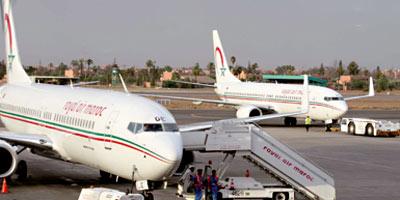 Les vols domestiques  génèrent 13% du trafic  de la RAM