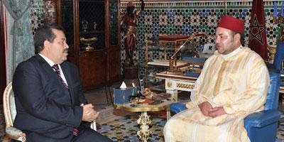 SM le Roi reçoit à Oujda, Hamid Chabat, le secrétaire général de l'Istiqlal