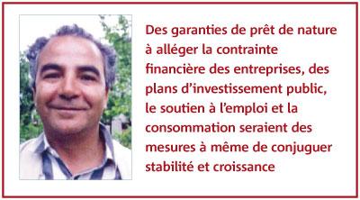 Rédouane Taouil : L'économie marocaine face aux turbulences mondiales: vive la crise