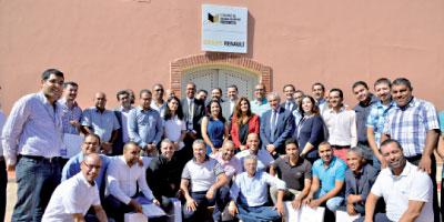 Renault Maroc célèbre sa première promotion de lauréats