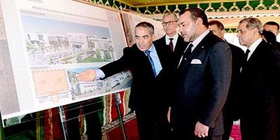 SM le Roi lance d'importants projets routiers à Rabat