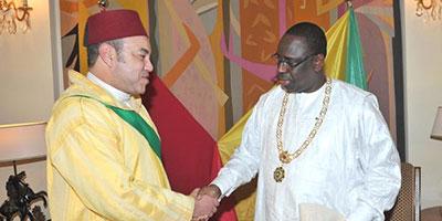 SM le Roi en visite au Sénégal, en côte d'Ivoire, au Gabon et en Guinée-Bissau