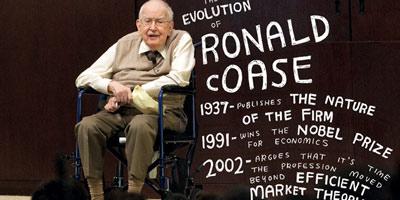 Ronald Coase, le Nobel de l'économie est décédé à l'à¢ge de 102 ans