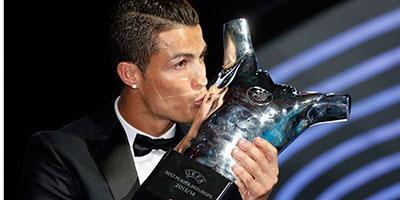 Cristiano Ronaldo élu meilleur joueur d'Europe 2013-2014 !