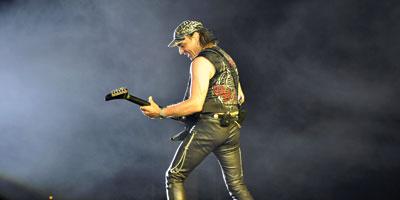 On a passé une superbe soirée avec les Scorpions dans leur hôtel, sans invitation ni pass VIP!