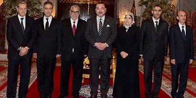 Remaniement: SM le Roi nomme quatre nouveaux ministres