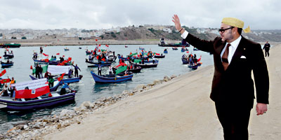 Sa Majesté inaugure à Tanger un Centre de qualification professionnelle maritime
