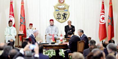 Visite royale en Tunisie : 12 accords sur les 23 signés sont à portée économique