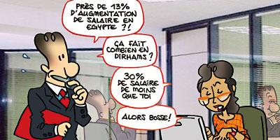 Salaires : le Maroc comparé à l'Algérie, la Tunisie et l'Egypte