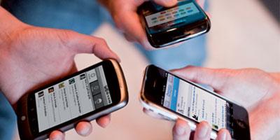 Smartphones : 3.6 millions de terminaux et une progression de 30% en 2012