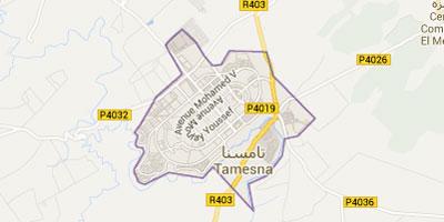 Route provinciale Rabat-Tamesna : le chantier avance correctement
