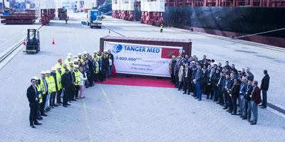 Tanger Med franchit la barre des 3 millions de conteneurs EVP