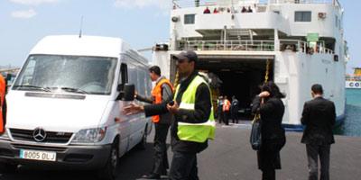 Tanger Med : perturbation du trafic maritime à cause des intempéries
