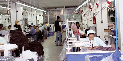Malgré la crise en Europe, le textile tient le coup : les industriels tablent même sur une hausse en 2012