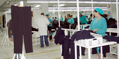 Les exportations de textiles font du surplace : à peine une hausse de 1.6% au premier trimestre
