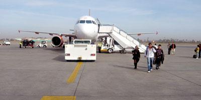 Légère amélioration du trafic aérien en janvier