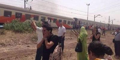 Déraillement d'un train assurant la liaison Casa-Fès
